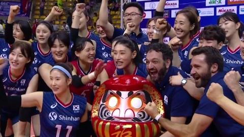 여자배구, 3회 연속 올림픽 본선 진출 쾌거