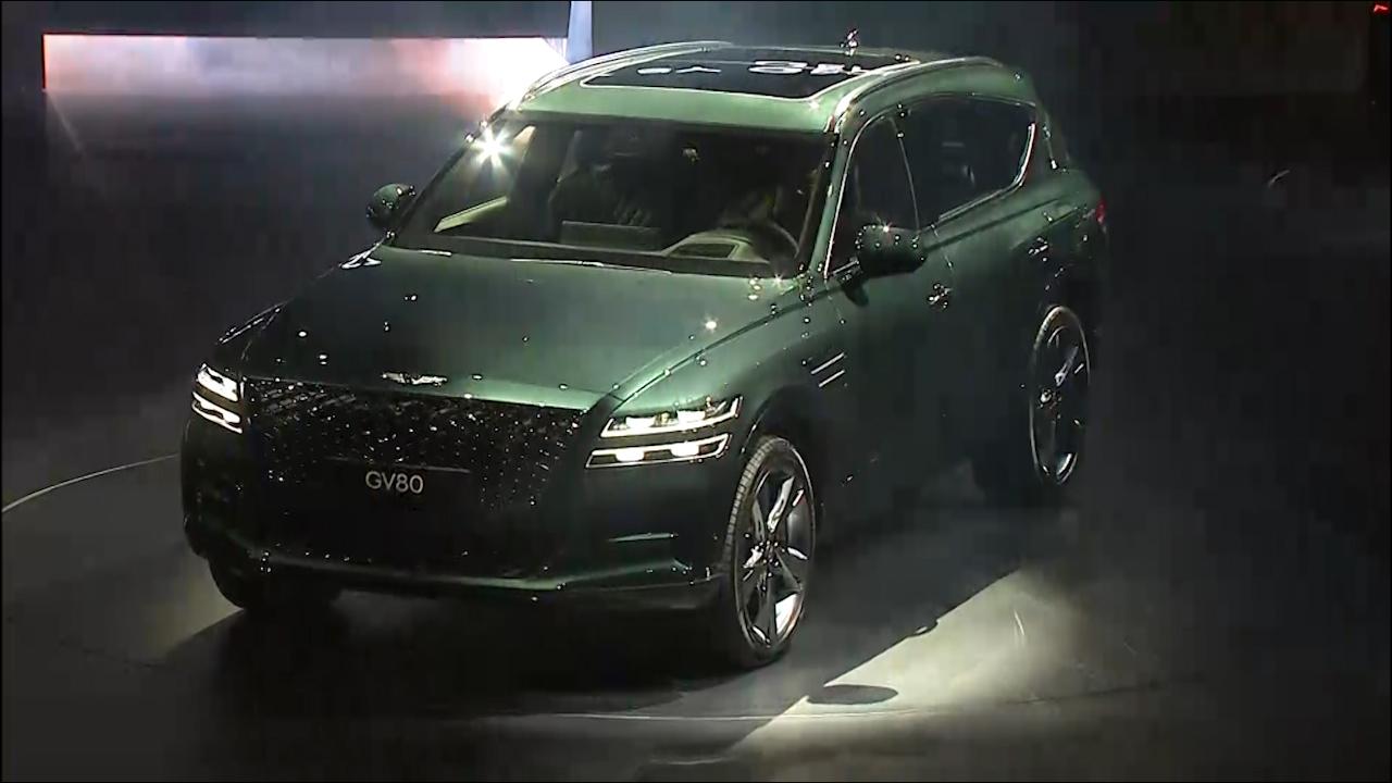 현대차 제네시스 첫 SUV 'GV80' 출시! 영상 보니...