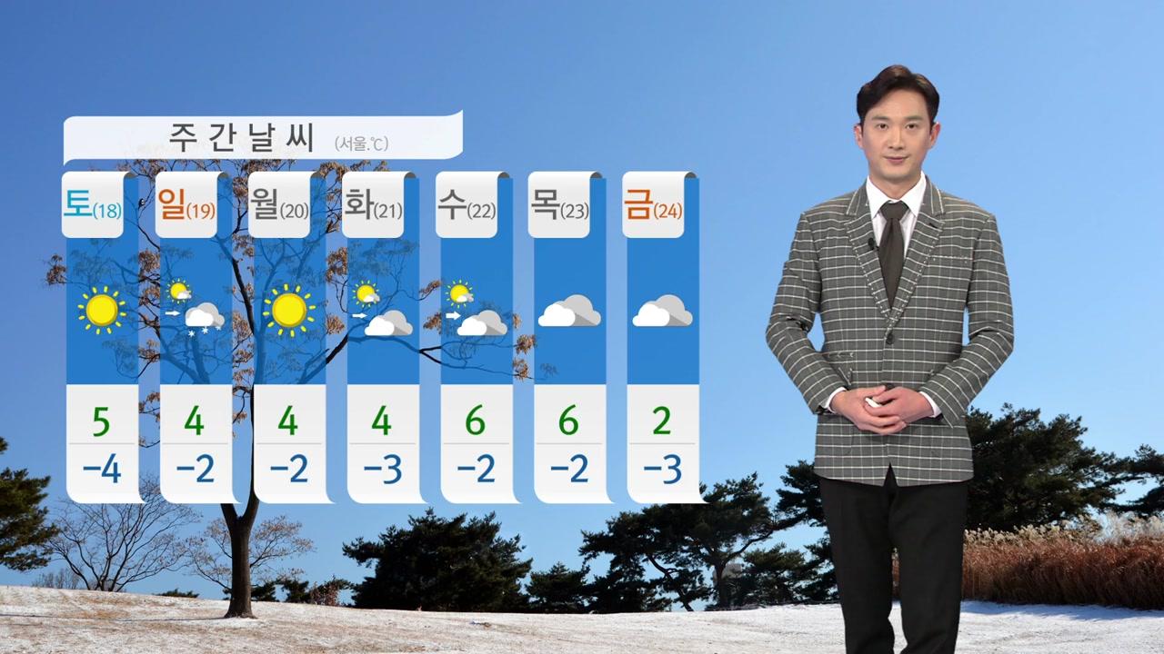 [날씨] 내일 아침까지 한겨울 추위...낮부터 점차 누그러져
