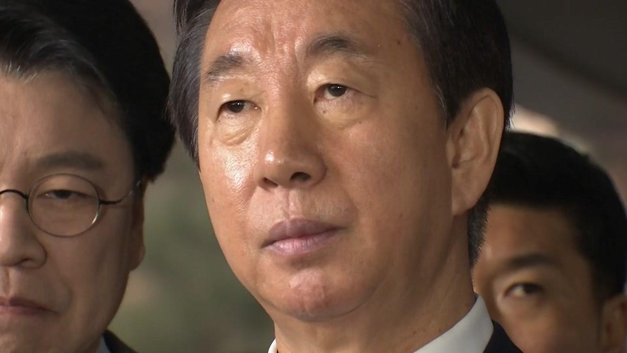 김성태 1심 무죄 결정타는...저녁 모임 '카드 내역'