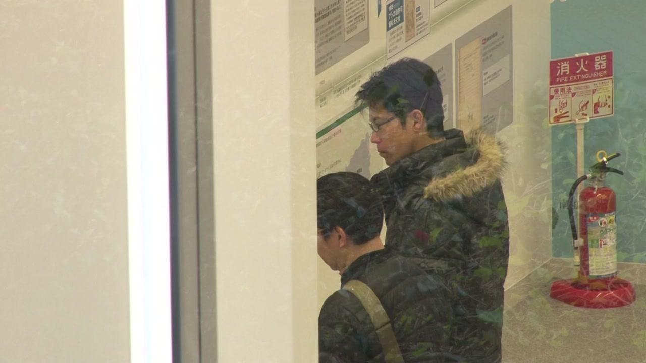 '독도 왜곡 전시관' 첫날...韓 취재는 또 거부