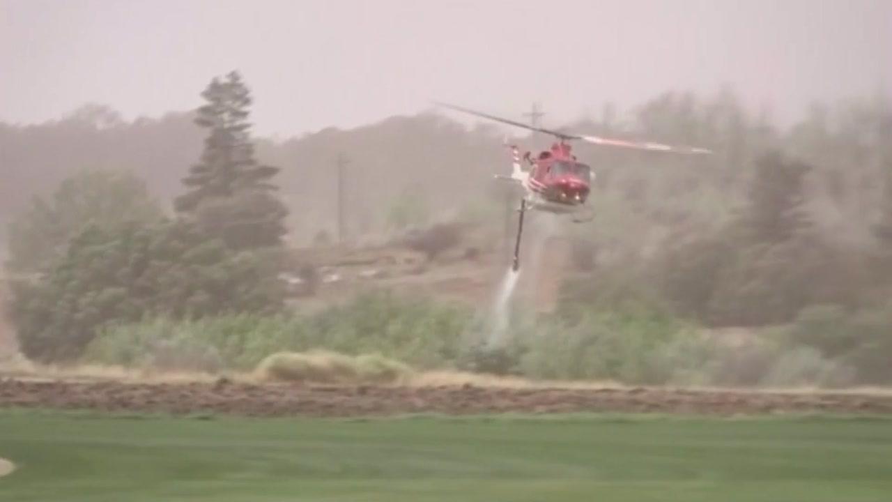 호주 산불로 수도 공항 중단...소방항공기 추락 美대원 3명 사망