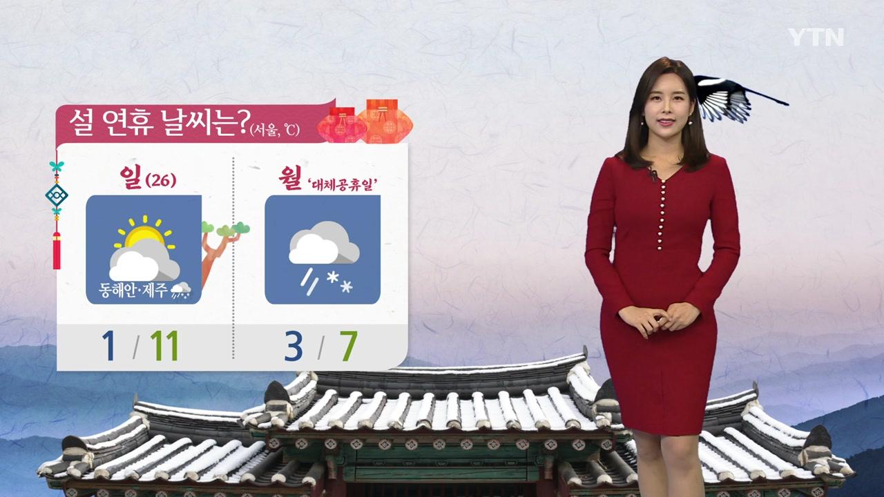[날씨] 초봄처럼 포근한 설날...미세먼지↑