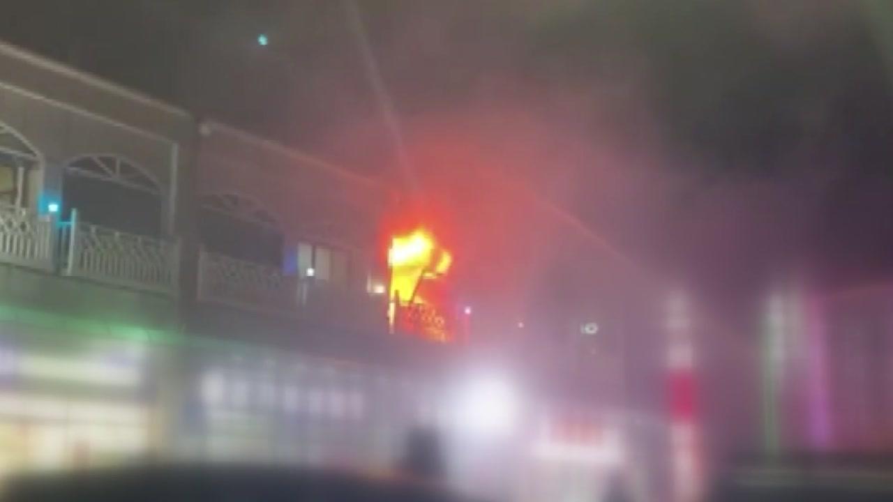 동해 펜션에서 가스폭발 사고...4명 사망