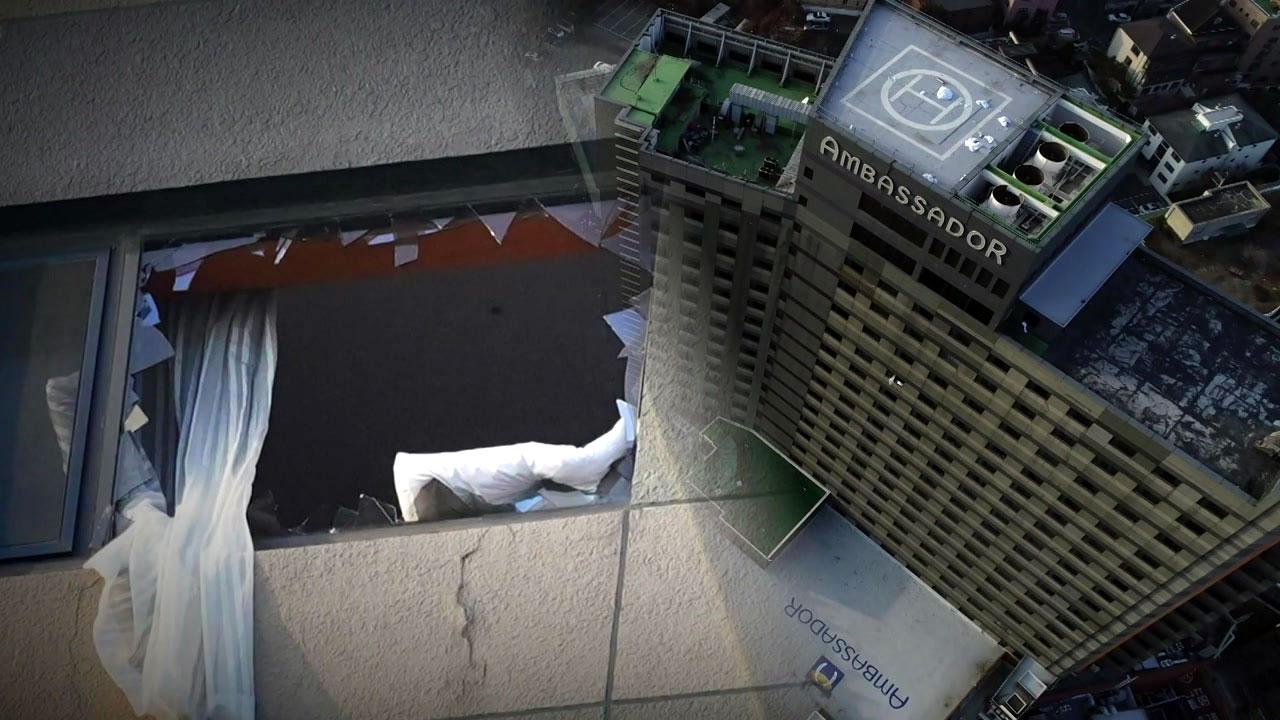 서울 도심 5성급 호텔에 불...580여 명 긴급 대피