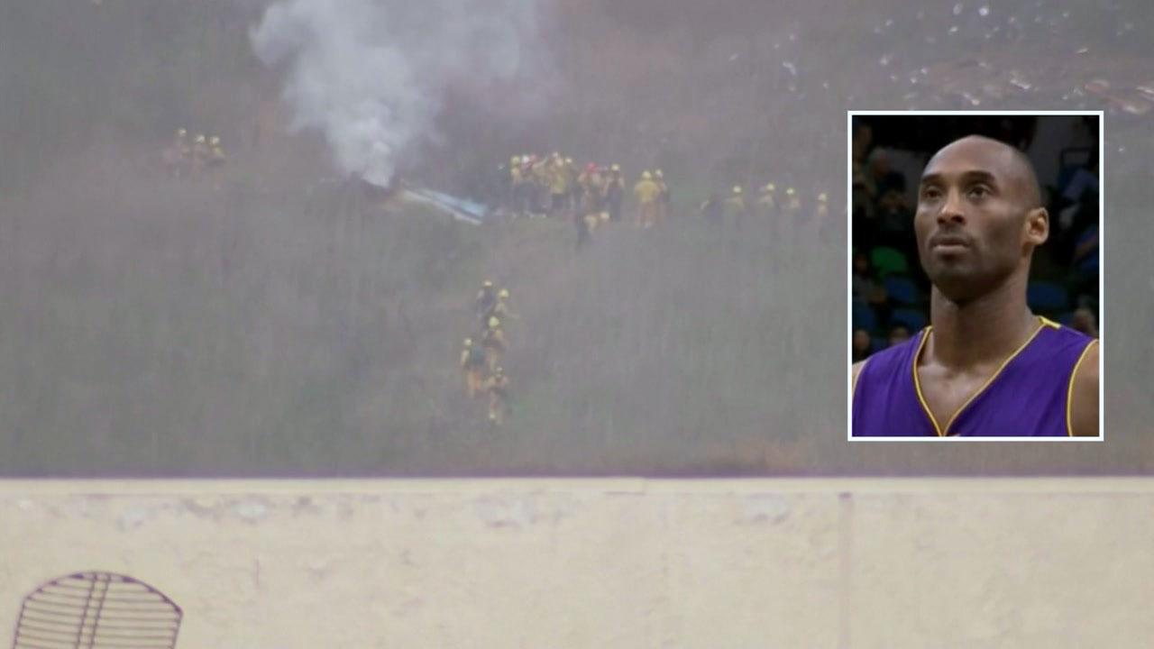 코비 브라이언트, 헬기사고로 사망...탑승자 9명 전원 사망