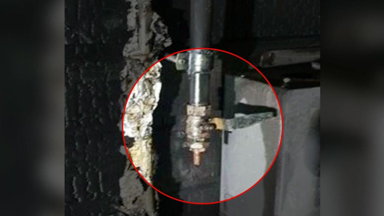 """가스 배관 막음 장치 없어...""""건물주가 직접 철거"""""""
