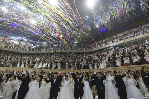 '신종 코로나' 확산에도...통일교 3만 명 가평서 합동결혼식