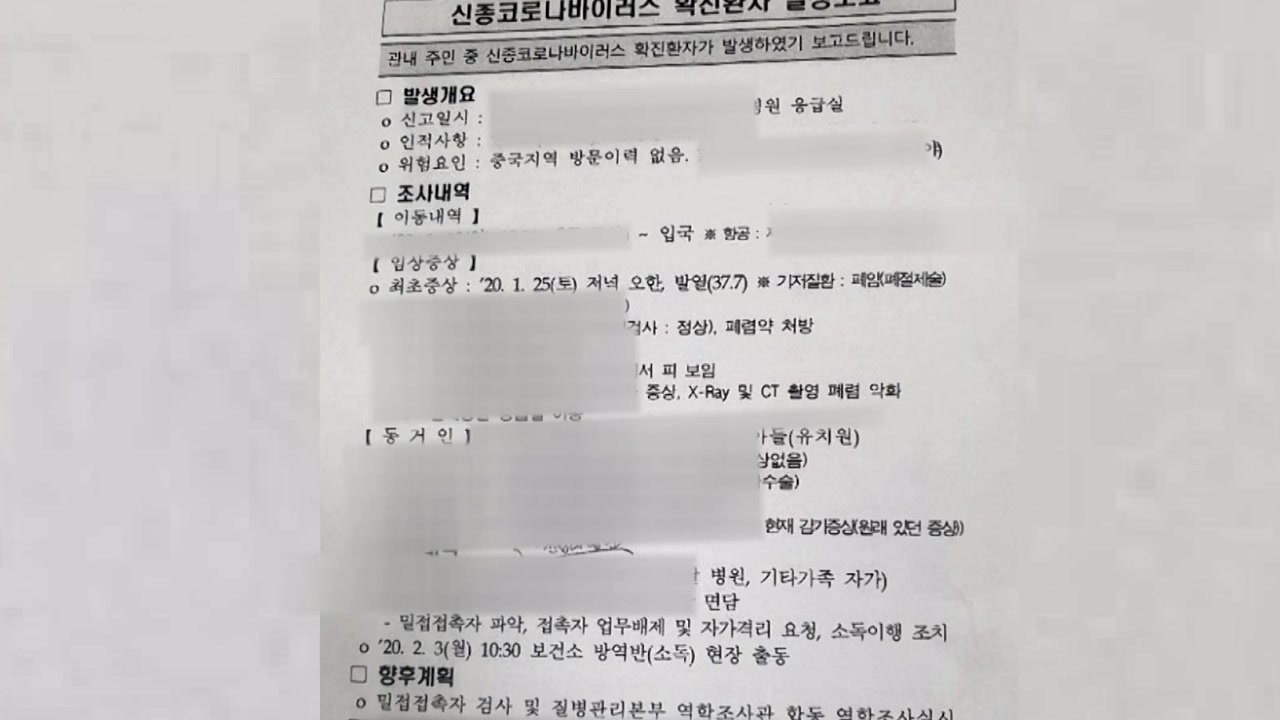 확진자 개인정보 공문 유출...잡고 보니 '시장 비서관'