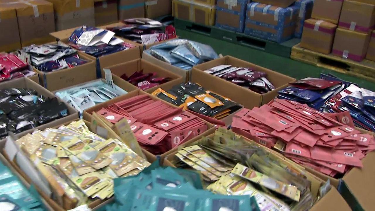 '수량 속이고·박스 바꾸고' 마스크 불법수출 73만 장 적발