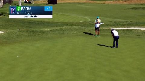 강성훈, PGA 제네시스 2라운드서 선두와 3타 차 공동 5위
