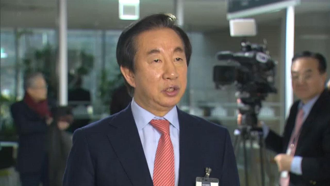 [속보] 한국당 김성태 전 원내대표, 총선 불출마 선언