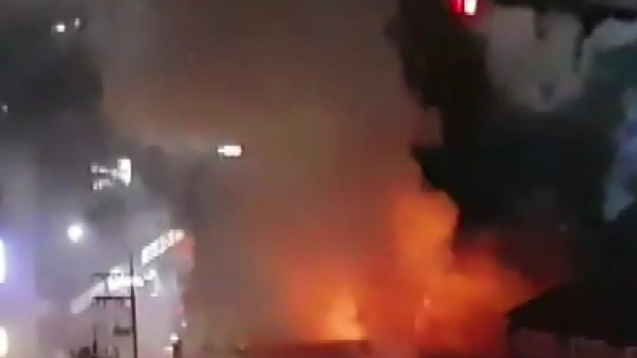 경기 남양주 헬스장서 불...110명 긴급 대피