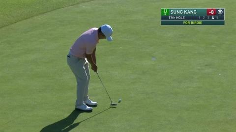 강성훈, PGA 투어 제네시스 대회 공동 2위