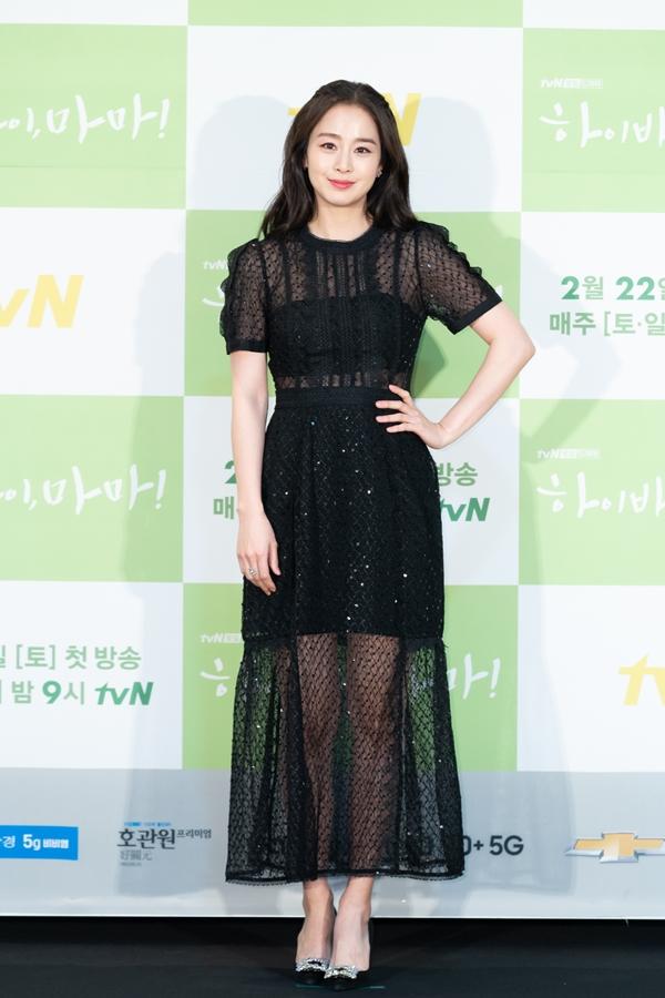 """'하이바이,마마!' 5년 만의 복귀 김태희 """"엄마로서 공감…많이 울었다"""""""