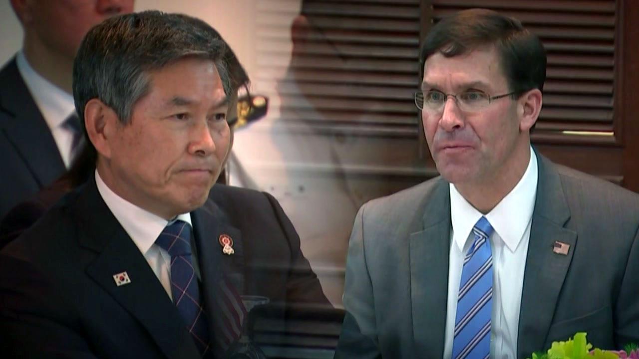 석 달만에 만나는 한미 국방장관...방위비·연합훈련 논의