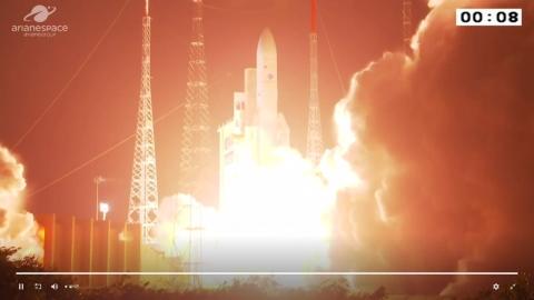 [현장영상] 천리안 2B호, 기아나 우주센터에서 발사