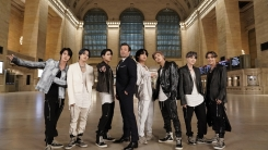 방탄소년단, 美 '지미 팰런쇼'서 신곡 'ON' 첫 무대…대규모 퍼포먼스 정점