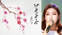 송가인, 오늘(26일) '화류춘몽' 리메이크 발매…수익 전액 기부