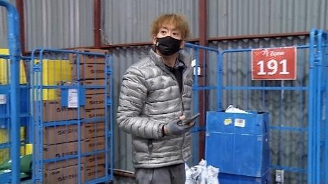 '나혼산' 태사자 김형준, 눈발 헤치며 3만건 배송...택배맨 일상