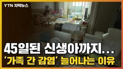 [자막뉴스] 45일된 신생아까지...'가족 간 감염' 늘어나는 이유