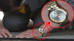 [기자브리핑] '박근혜 시계' 차고 '큰 절', 신천지 이만희 교주 기자회견