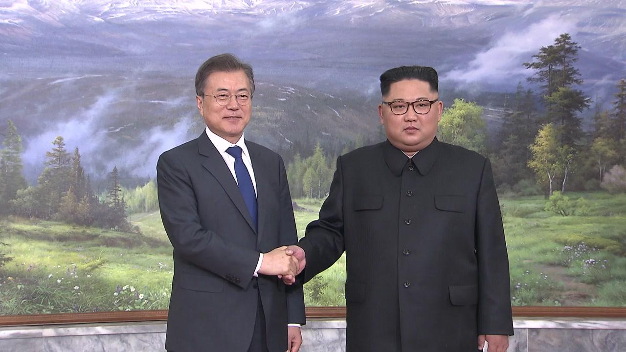 문 대통령·김정은 위원장 '코로나19' 친서 교환...넉 달 만의 직접 소통