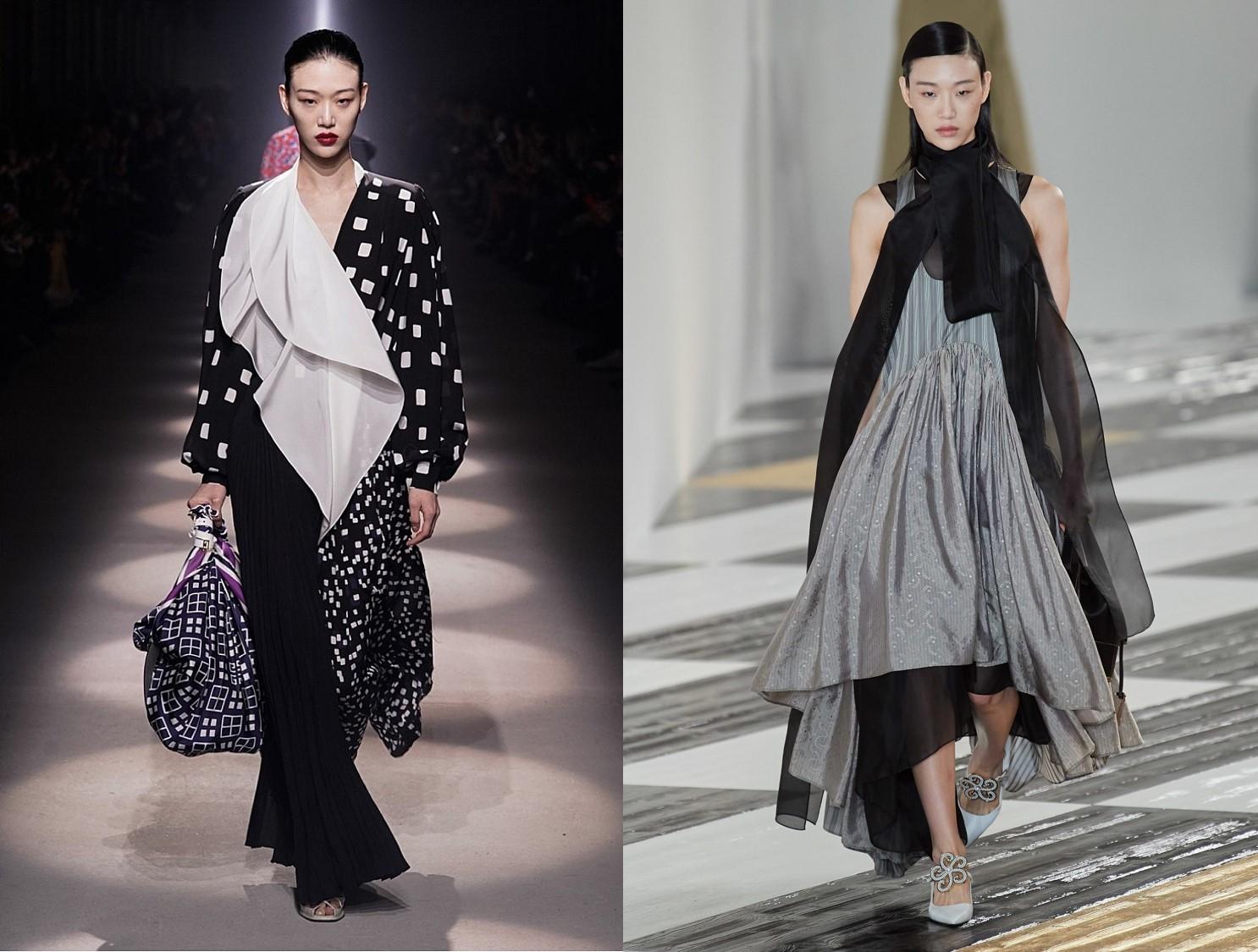세계적인 톱모델 최소라 35개 컬렉션에서 눈부신 활약