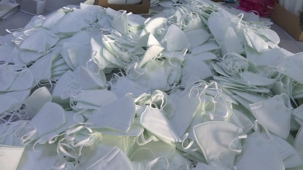 """주한중국대사관 """"내일부터 한국에 마스크 수출...1차 물량 500만 장"""""""