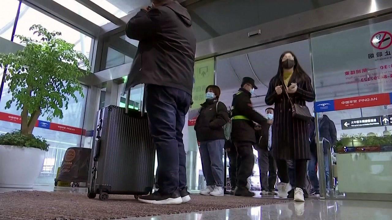 中 '역유입' 방역 더 강화...베이징, 모든 입국자 '지정 시설' 격리
