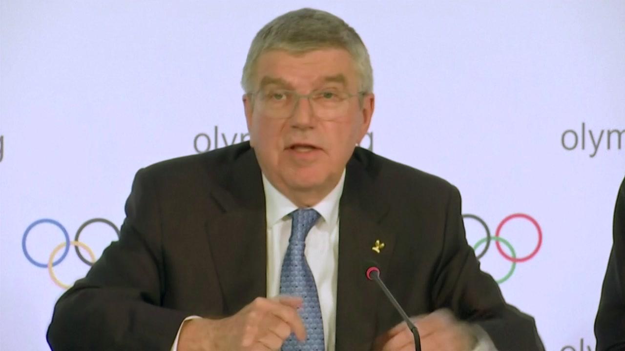 """'정상 개최' 재확인 IOC 위원장, """"책임감 있게 행동할 것"""""""