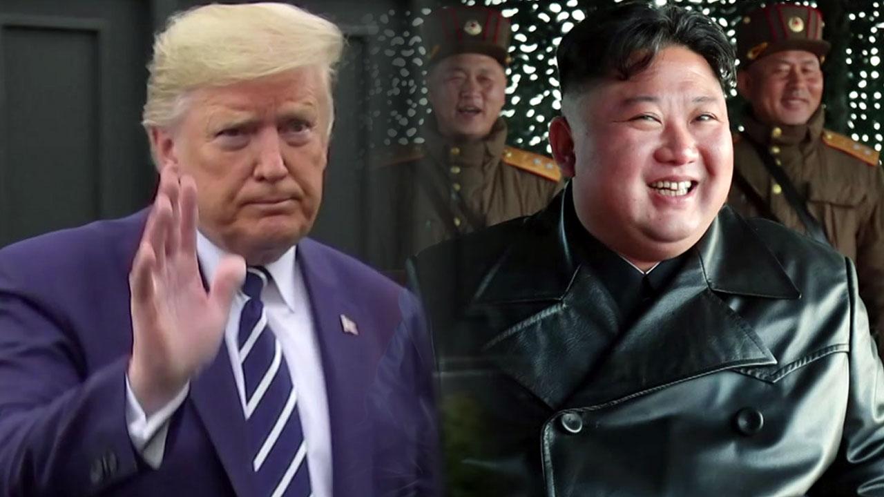 '코로나 친서' 북미 대화 물꼬 틀까?...김정은 군사행보는 계속