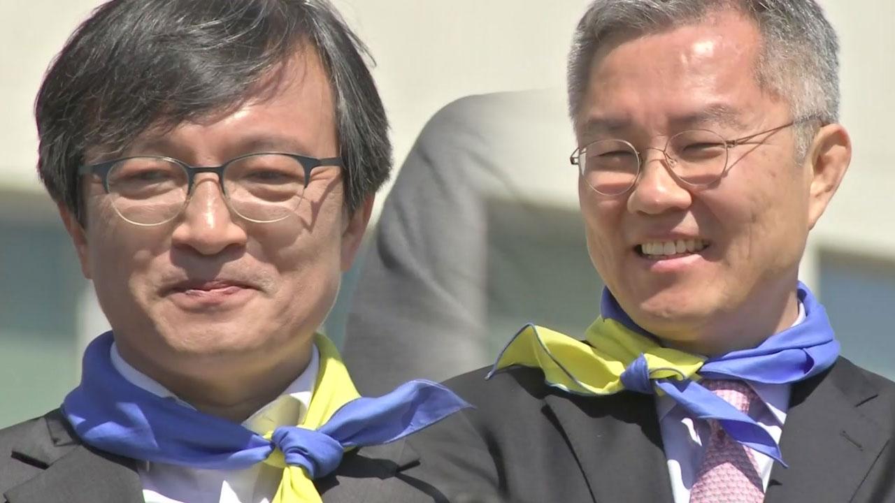 [단독] 최강욱·김의겸, 열린민주당 비례대표 당선권 안착