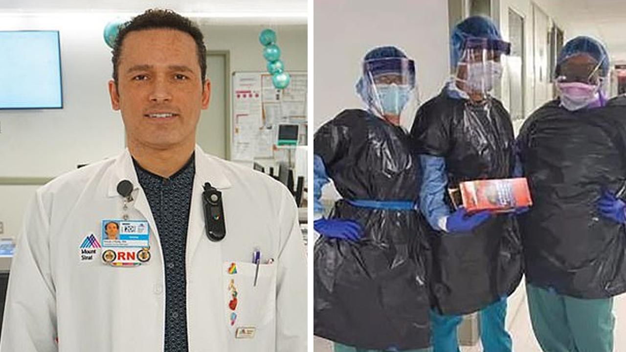 장비 부족...직원 '쓰레기봉지' 입게 한 美병원서 간호사 사망