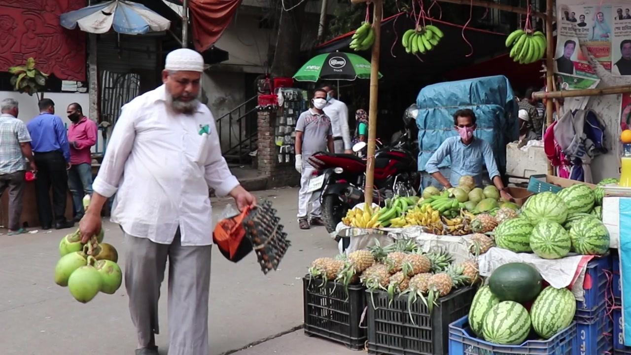 '사회적 거리 두기' 쉽지 않은 방글라데시