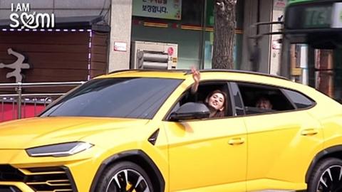 전소미, 고교 졸업식→2억 원대 외제차 운전...일상 화제