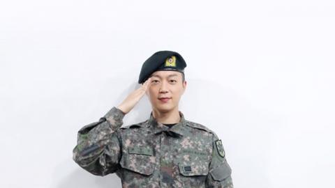 """윤두준, 오늘(10일) 육군 만기 전역…""""잊지 못할 좋은 경험"""""""