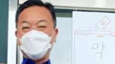 """김의성·정우성, 사전투표 인증…""""선거는 축제다"""""""