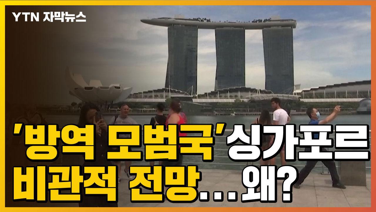 [자막뉴스] '방역 모범국'이던 싱가포르, 이젠 비관적 전망까지...