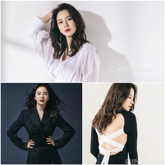 친근함은 없다...송지효, 카리스마로 채운 화보 공개