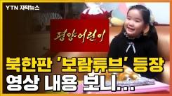 [자막뉴스] 북한판 '보람튜브' 등장, 영상 내용 보니...