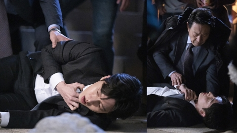 '꼰대인턴', 쓰러진 박해진...'본투비 꼰대' 김응수에 무릎 꿇나