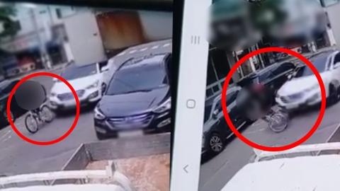 "CCTV 공개된 '경주 스쿨존 사고' 논란…피해자 가족 ""명백한 살인 행위"""