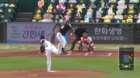 'LG 복덩이' 라모스, 3경기 연속 홈런…벌써 시즌 9호
