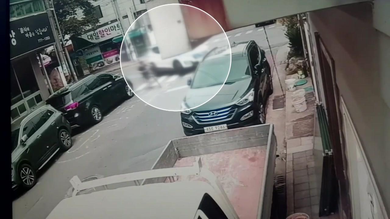 """경찰, 경주 스쿨존 사고 본격 수사...""""민식이법 위반"""""""