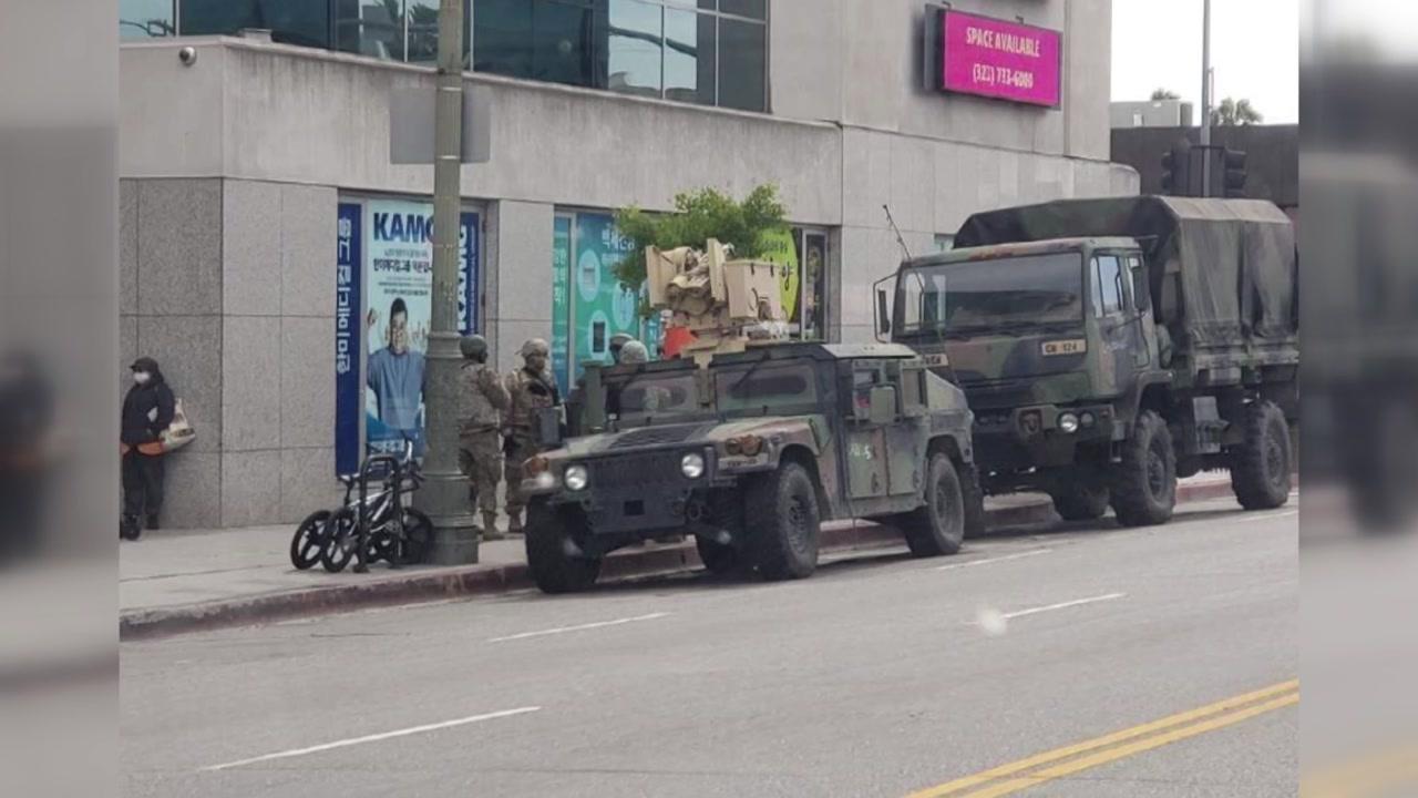 [더뉴스-더인터뷰] LA 한인타운에 주 방위군 투입...현지 분위기는?