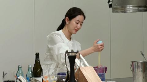 """'편스토랑' 전혜빈, 직접 만든 칵테일…박정아 극찬 """"오로라 같아"""""""