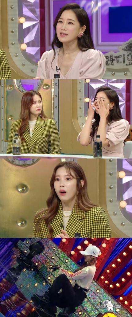 """'라디오스타' 김하영 """"♥유민상에 진짜 마음 생겨""""...키스신 비하인드"""