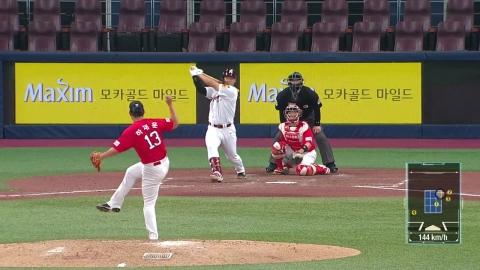 주효상, 연속경기 대타 끝내기...역대 최초