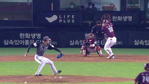 박병호 역전 만루포...키움 8연승 2위 도약